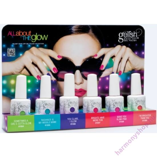 All About The Glow Collection Display, mind a 6 színnel (All About The Glow Collection, 01776)