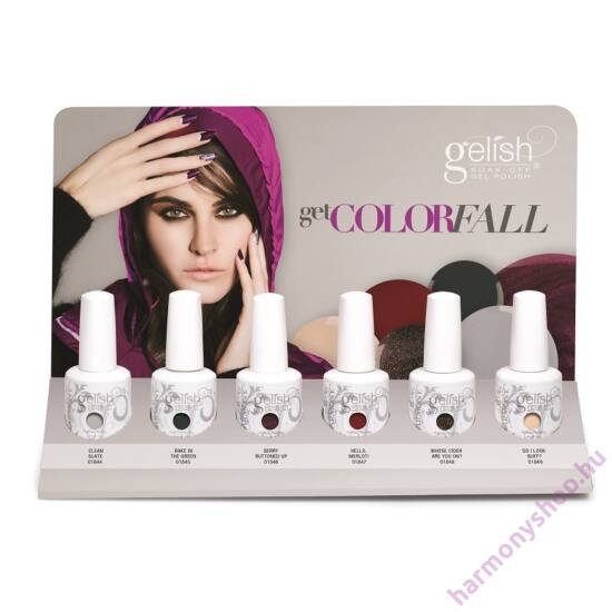 Get ColorFall Collection Display, '14 ősz, mind a 6 mini 9mles színnel (04398)