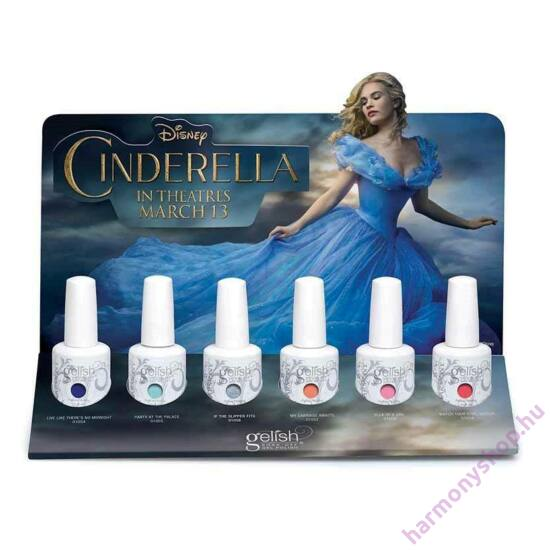 Cinderella Collection, Hamupipőke 6 színnel (01144)