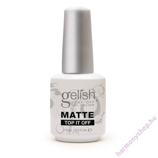 Gelish Matte Top It Off, matt fedőlakk (01222)