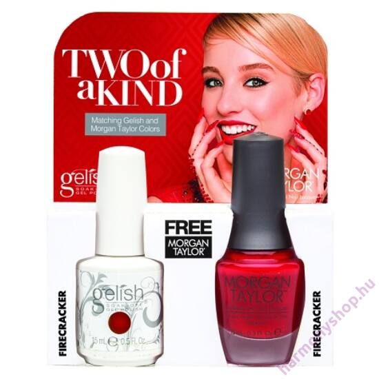 Fire Cracker Gelish + MT duplacsomag, 2 x 15ml, 01498