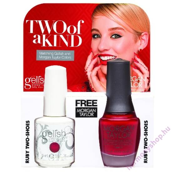 Ruby Two Shoes Gelish + MT duplacsomag, 2 x 15ml, 01500