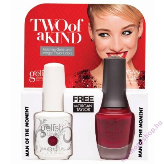 Man of the Moment Gelish + MT duplacsomag, 2 x 15ml, 01501