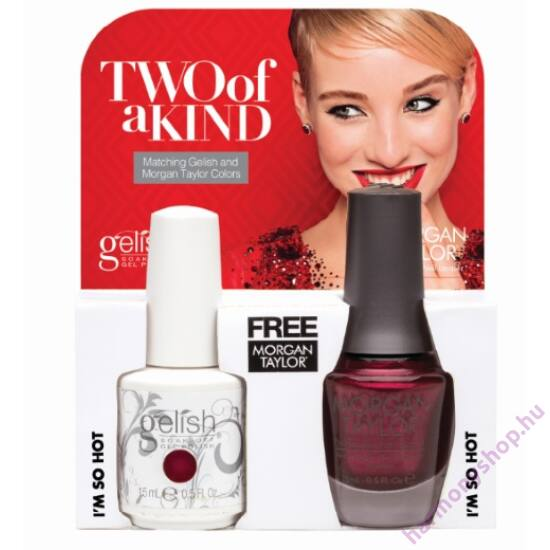 I'm so Hot Gelish + MT duplacsomag, 2 x 15ml, 01568