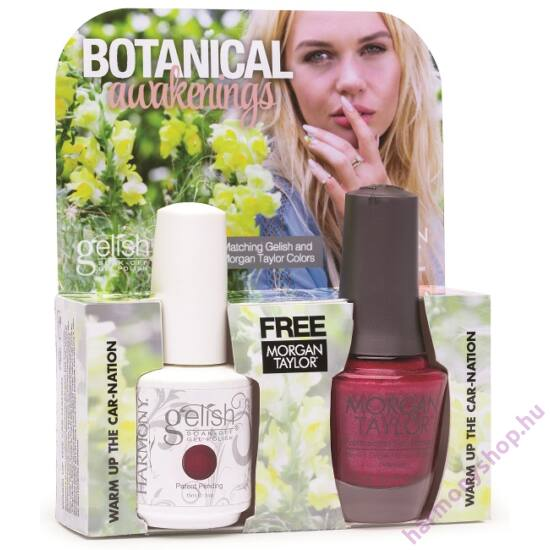 Warm up the Carnation, Gelish + MT duplacsomag, 2 x 15ml
