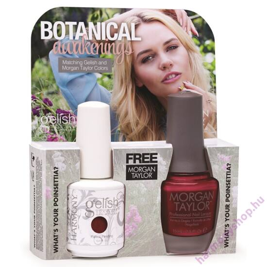 Whats Your Poinsettia, Gelish + MT duplacsomag, 2 x 15ml