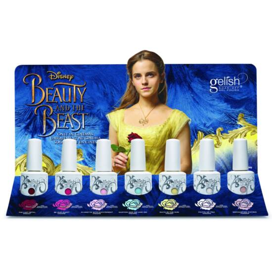 Beauty and the Beast display, 6 szin és egy effekt lakk (1130000)